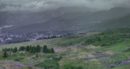 Webcam de la Estación de Esquí de Courchevel
